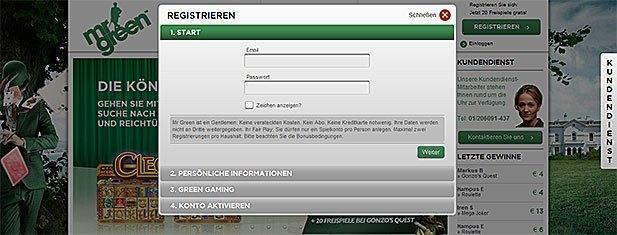 Wie Boni bei Mr Green funktionieren - Mr Green Schweiz